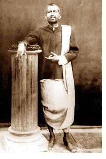 Sri Ramkrishna in samadhi
